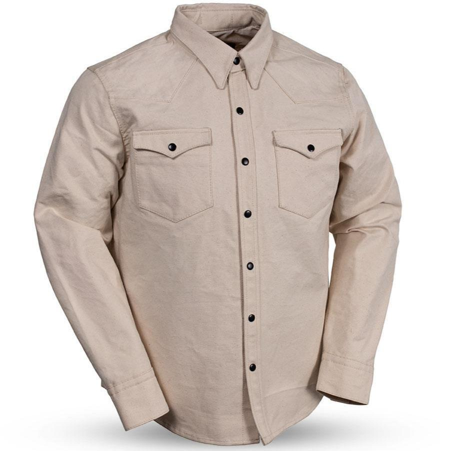 Forsyth - Men's Canvas Shirt - Up To Size 5X - SKU USA-FIM416CNVS-FM