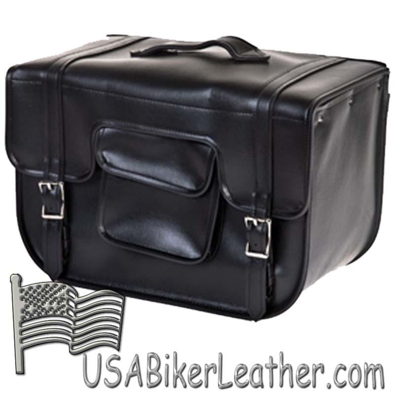 PVC Carry On Motorcycle Single Saddlebag - SKU USA-SD12-PV-DL