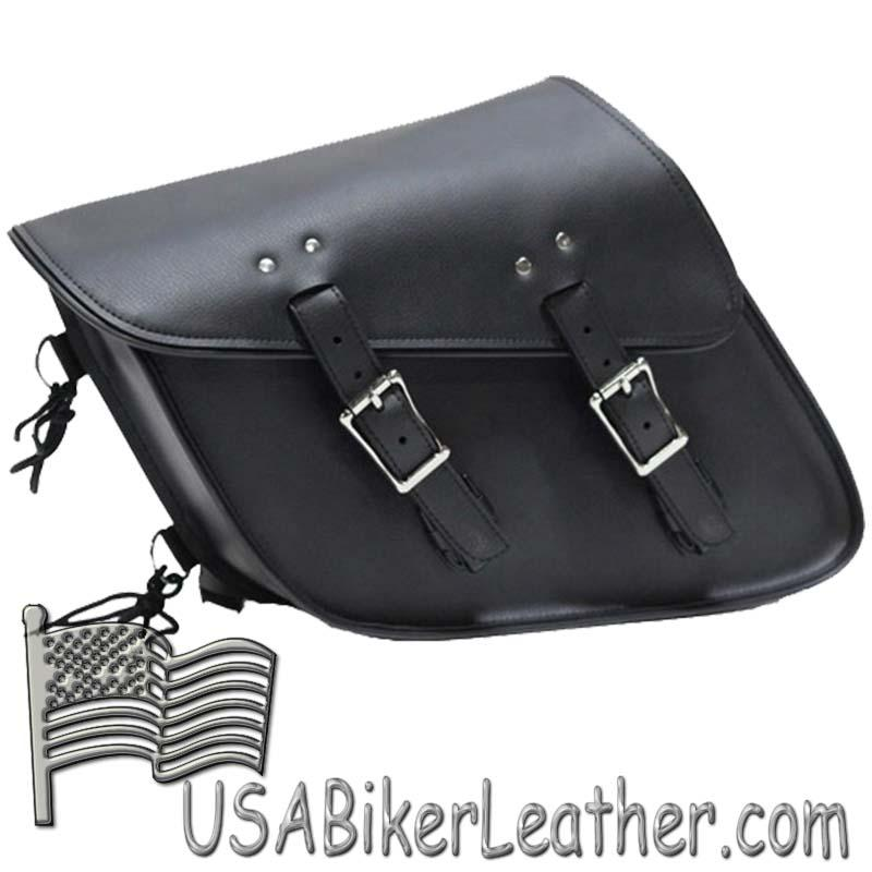 PVC Motorcycle Solo Swing Arm Bag - SKU USA-SD4093-SOLO-DL