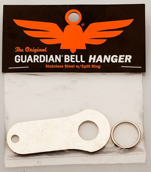 Bell Hanger - Stainless Steel - Motorcycle Guardian Bell - SKU GB-BELL-H-DS