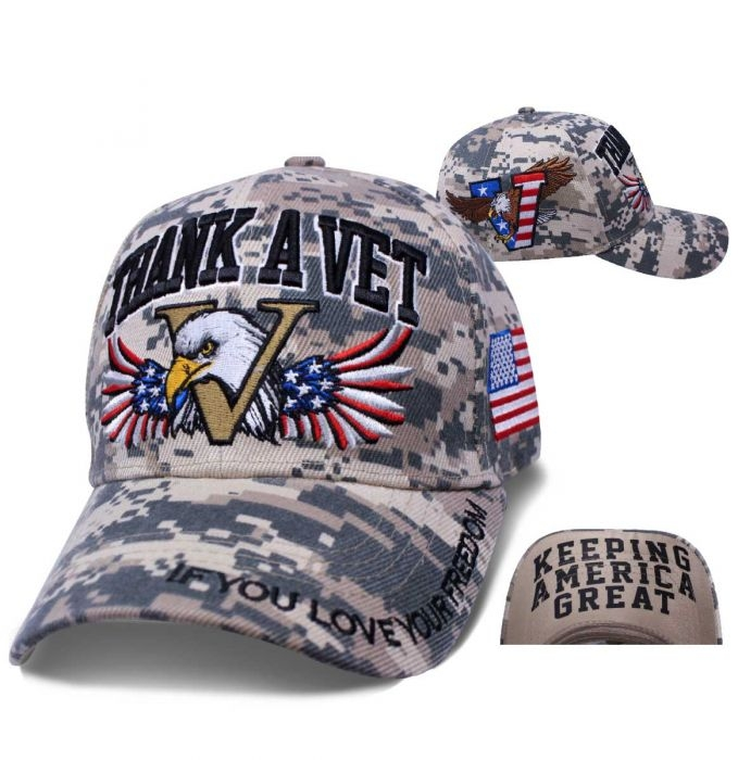 Keeping America Great - Baseball Cap - Thank A Vet - SKU SDPMTV-DS