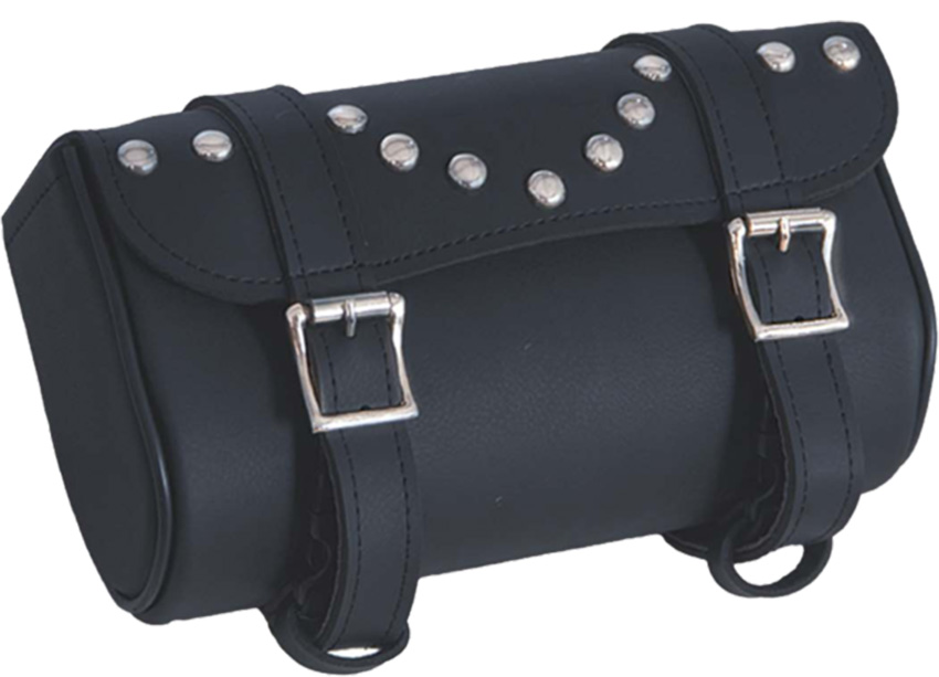 UNIK PVC Tool Bag With Studs - Motorcycle Storage - SKU 2863-00-UN